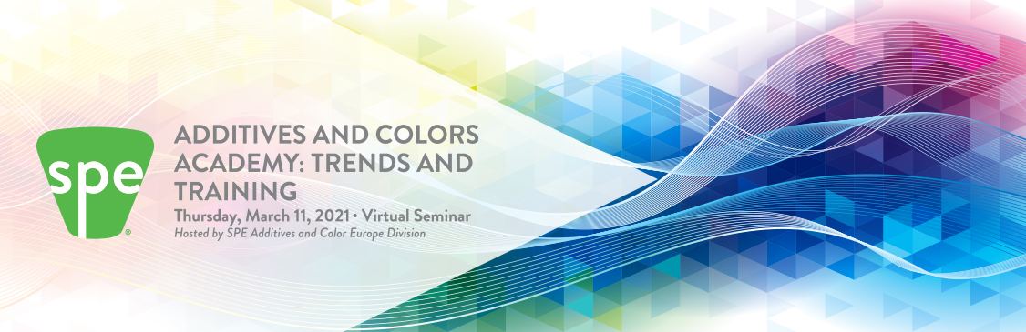 SPE Additives and Colors Academy: Trends and Training